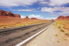 Valle del monumento, Arizona Fotografie Stock Libere da Diritti