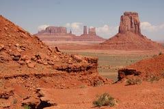 Valle del monumento - Arizona Immagine Stock Libera da Diritti