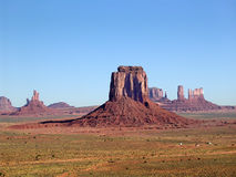 Valle del monumento, Arizona Foto de archivo libre de regalías