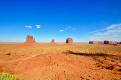 Valle del monumento, Arizona Fotos de archivo libres de regalías