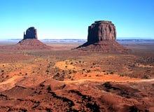 Valle del monumento, Arizona, los E.E.U.U. Foto de archivo libre de regalías