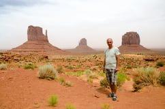 Valle del monumento - Arizona, los E.E.U.U. Foto de archivo libre de regalías
