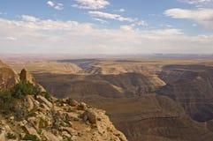 Valle del monumento dal punto di Muley Immagine Stock Libera da Diritti