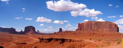 Valle del monumento de los E.E.U.U. panoraomic Fotografía de archivo