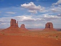 Valle del monumento de los E.E.U.U. panoraomic Imágenes de archivo libres de regalías
