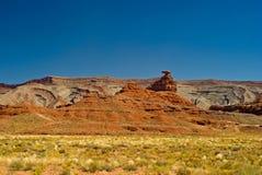 Valle del monumento del sombrero mexicano, Utah Fotografía de archivo libre de regalías