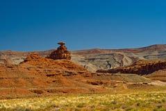 Valle del monumento del sombrero mexicano, Utah Imágenes de archivo libres de regalías