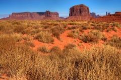 Valle del monumento dell'Arizona Immagini Stock Libere da Diritti