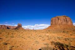 Valle del monumento en Arizona Fotografía de archivo
