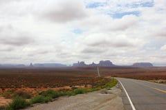 Valle del monumento negli S.U.A. 2013 Immagini Stock