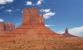 Valle del monumento nel sud-ovest dell'America Immagini Stock Libere da Diritti