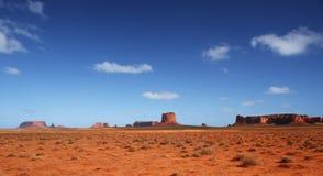 Valle del monumento nel sud-ovest dell'America Fotografie Stock Libere da Diritti