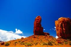Valle del monumento, sosta tribale del Navajo, Arizona, S Fotografia Stock