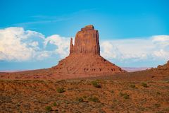 Valle del monumento fotografia stock libera da diritti
