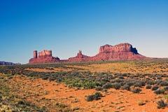 Valle del monumento, Utah Fotos de archivo