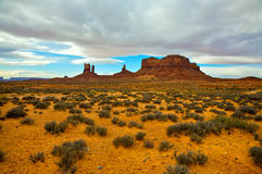Valle del monumento, Utah Fotografia Stock