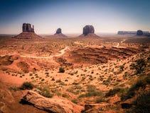 Valle del monumento, Utah, los E Imágenes de archivo libres de regalías