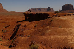 Valle del monumento, Utah, los E.E.U.U. Foto de archivo libre de regalías
