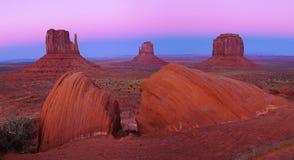 Valle del monumento, Utah, S.U.A. Fotografia Stock