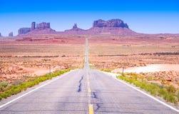 Valle del monumento, Utah, Stati Uniti Fotografie Stock