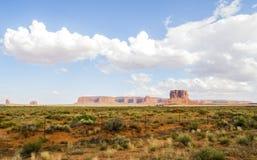 Valle del monumento, vecchi alberi - Arizona, AZ Fotografie Stock