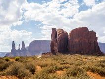 Valle del monumento, vecchi alberi - Arizona, AZ Immagini Stock Libere da Diritti