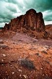 Valle del paisaje del fuego Imágenes de archivo libres de regalías
