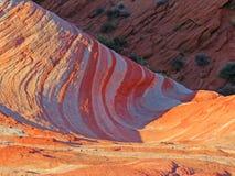 Valle del paisaje del fuego Foto de archivo