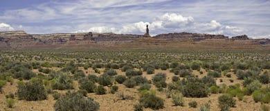 Valle del panorama dei dei Fotografia Stock
