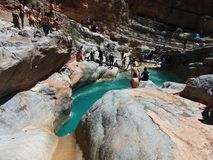 Valle del paraíso un Agadir Marruecos 4 foto de archivo