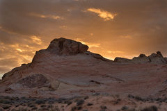 Valle del parco di stato del fuoco Nevada Fotografia Stock Libera da Diritti
