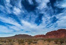 Valle del parco di stato del fuoco Nevada Immagine Stock Libera da Diritti