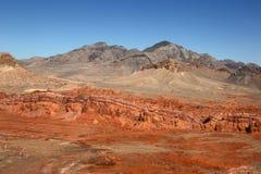 Valle del parque de estado del fuego, Nevada, los E.E.U.U. Imagen de archivo libre de regalías