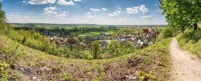 Valle del río Vistula Imágenes de archivo libres de regalías