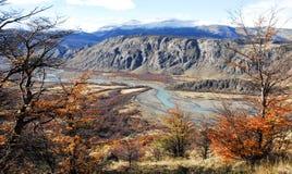 Valle del Rio de Las Vueltas Royalty-vrije Stock Foto's