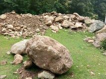 Valle del Roccia-Kashmir Immagini Stock Libere da Diritti