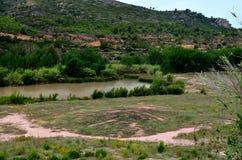 Valle del Turia Royalty-vrije Stock Afbeeldingen