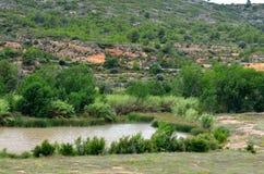 Valle del Turia Royalty-vrije Stock Afbeelding