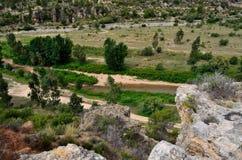 Valle del Turia Stock Image