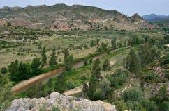 Valle del Turia Stock Photography