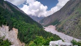 Valle del uttrakhand Foto de archivo libre de regalías