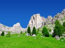 Valle del Vajolet in dolomia, alpi di Italien Immagine Stock Libera da Diritti