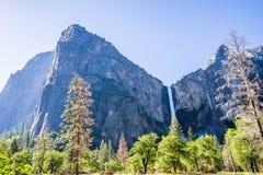 Valle del Yosemite alla vista del traforo Immagine Stock