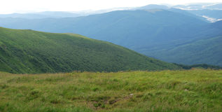 Valle dell'altopiano Immagini Stock