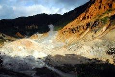 Valle dell'inferno Immagine Stock