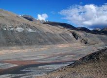 Valle dell'isola Ellesmere Fotografia Stock