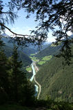 Valle della locanda, Tirolo fotografia stock libera da diritti