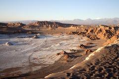 Valle della luna Fotografia Stock