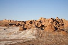 Valle della luna Fotografie Stock