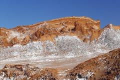 Valle della luna - La Luna, deserto di Atacama, Cile di Valle de immagine stock